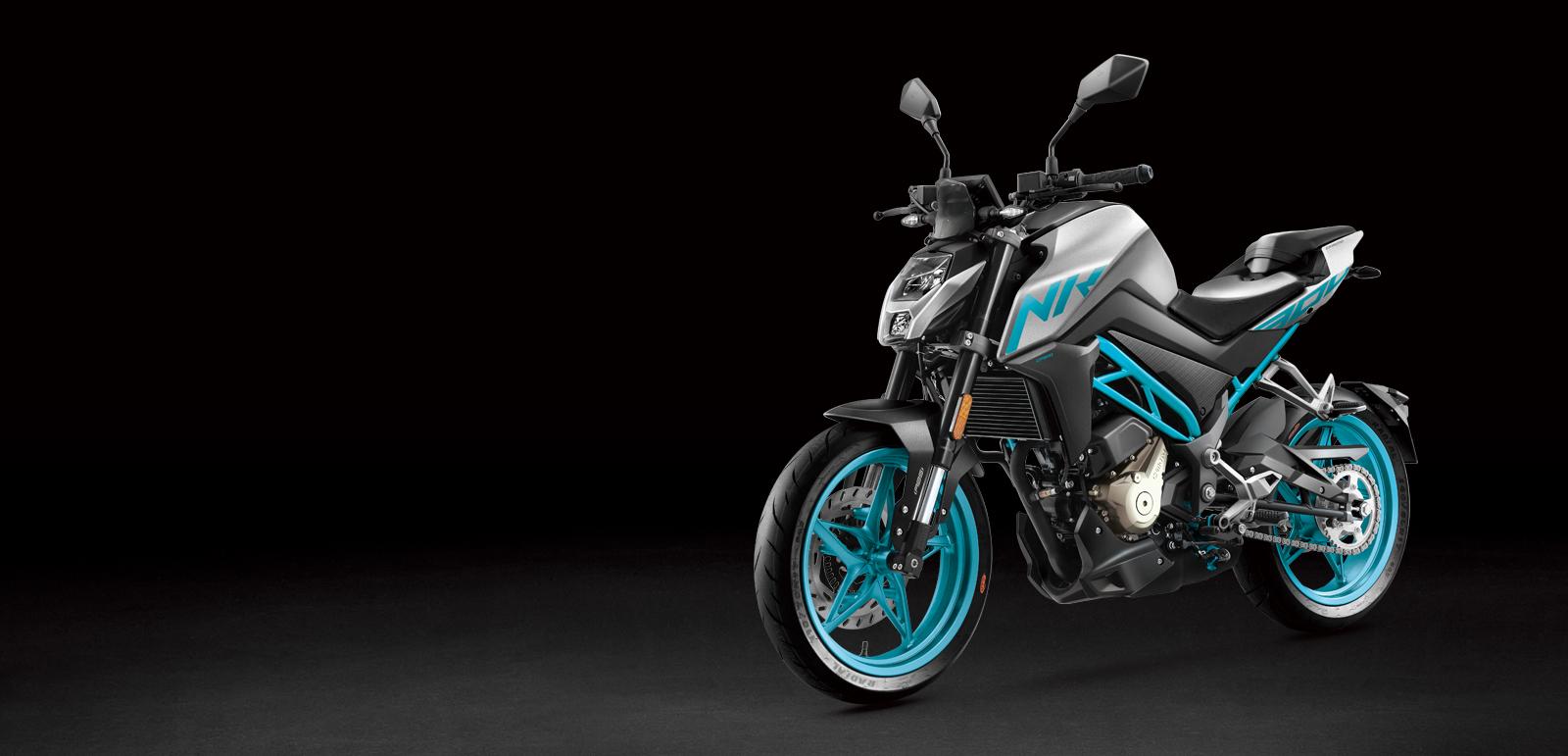CF Moto 300NK Side Profile
