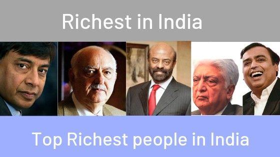 Forbes List- Richest Indians
