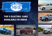 Top Five Electric Cars Available in India