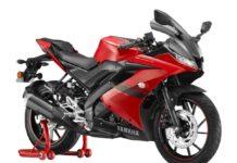 2021 Yamaha R15 Metallic Red