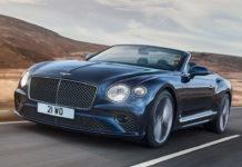 Bentley Continental GT Speed Convertible Top Speed