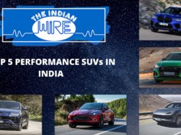 Top Five Performance SUVs in India