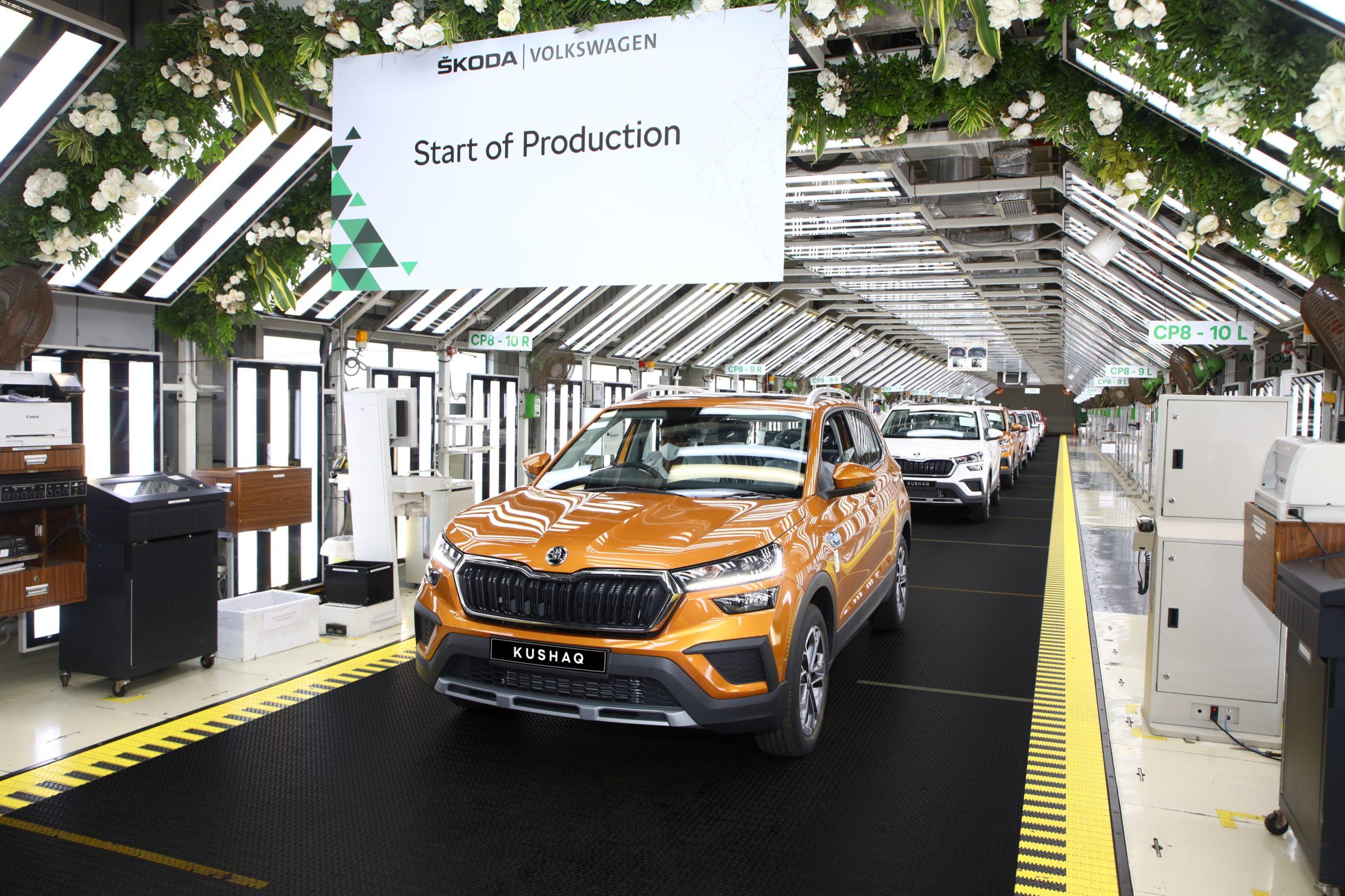 Skoda Kushaq Production Starts In India