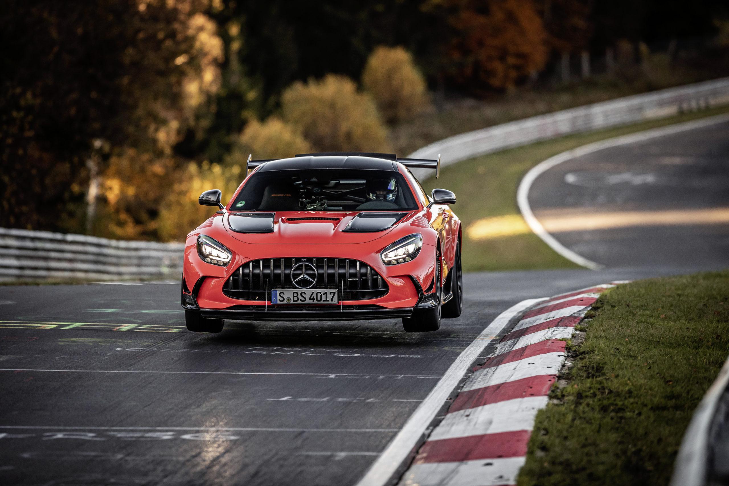 Mercedes-AMG GT Black Series schnellstes Serienfahrzeug auf der Nürburgring-NordschleifeMercedes-AMG GT Black Series