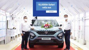 Tata Safari 10,000th Unit