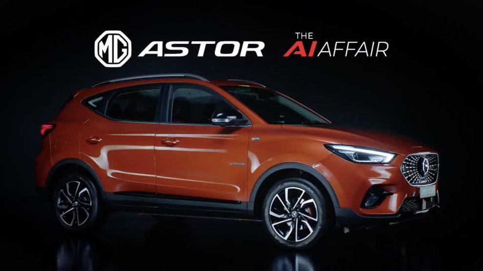 MG Astor Revealed